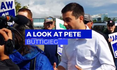 Buttigieg video screen grab