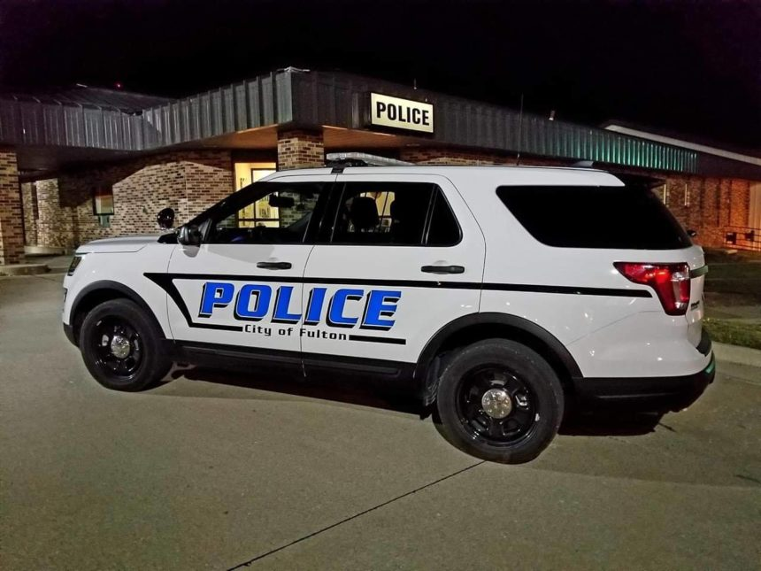 Fulton Police cruiser