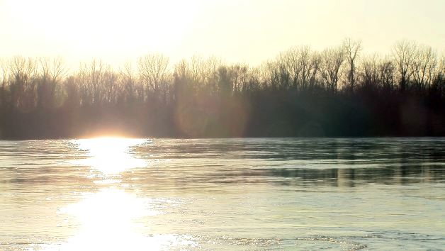 Missouri River at Cooper's Landing in Boone County.