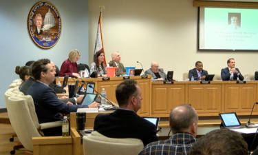 Jefferson City Council meeting in Dec., 2019