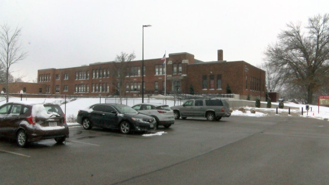 Photo of East Elementary School taken Dec. 17, 2019.