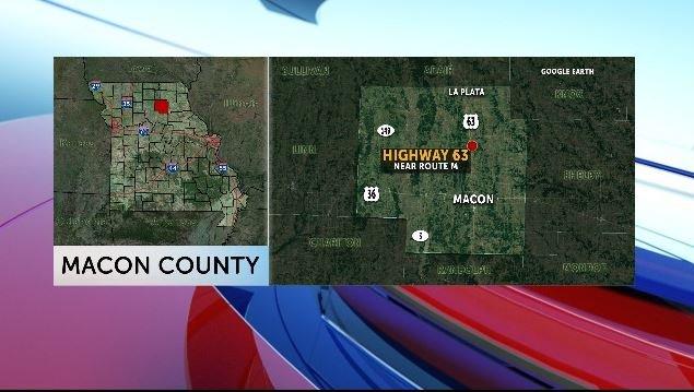 A crash in Macon County killed one man.
