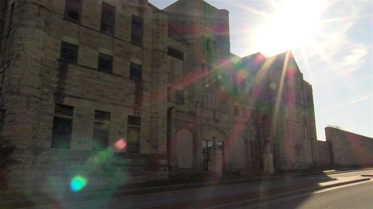 The historic Missouri State Penitentiary in Jefferson City.