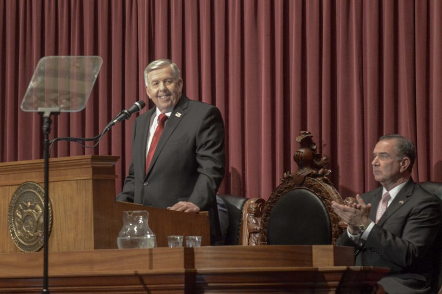 Gov. Mike Parson at State of the State