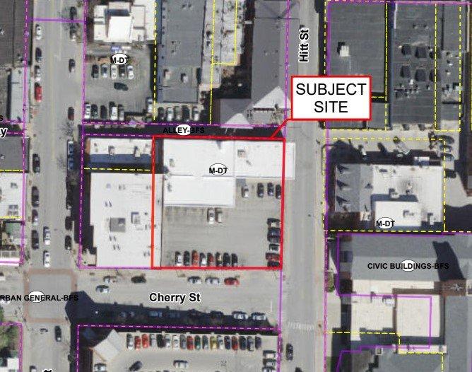 Hitt Street Columbia P and Z P&Z downtown