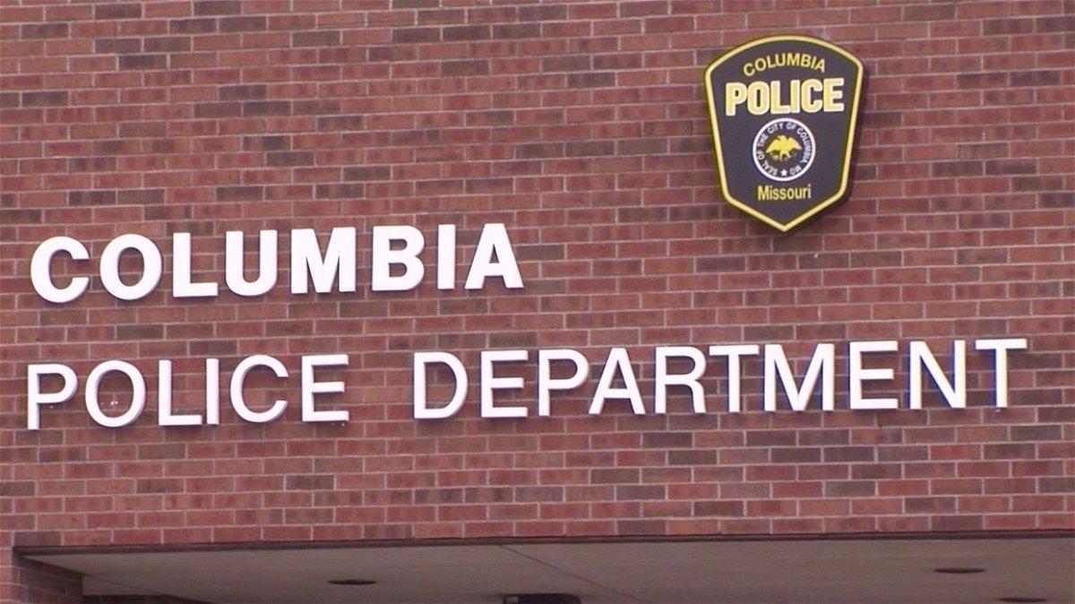 Columbia Police Department logo.