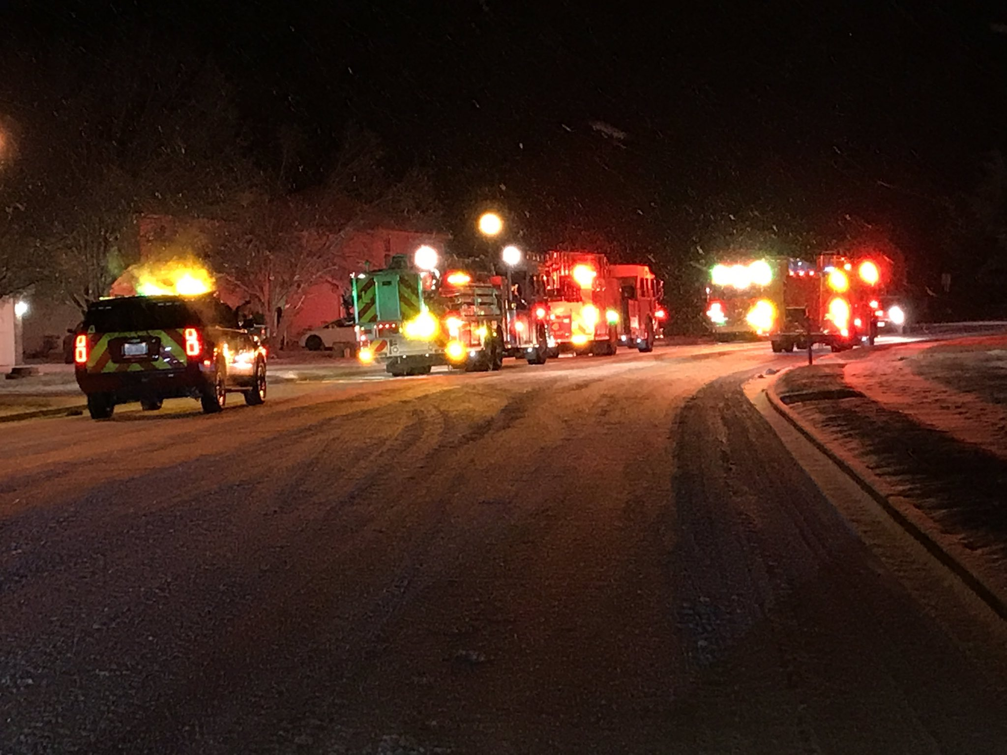 Columbia firefighters were called to investigate smoke in a home on Hanover Boulevard.