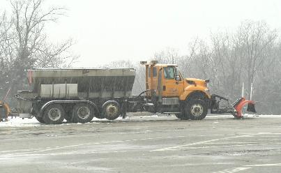 MoDOT snow plow