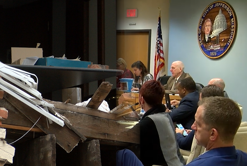 Jefferson City government considers demolition contract for downtown buildings