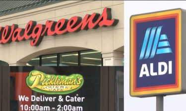 Walgreen's, Aldi and Pickleman's photo compilation