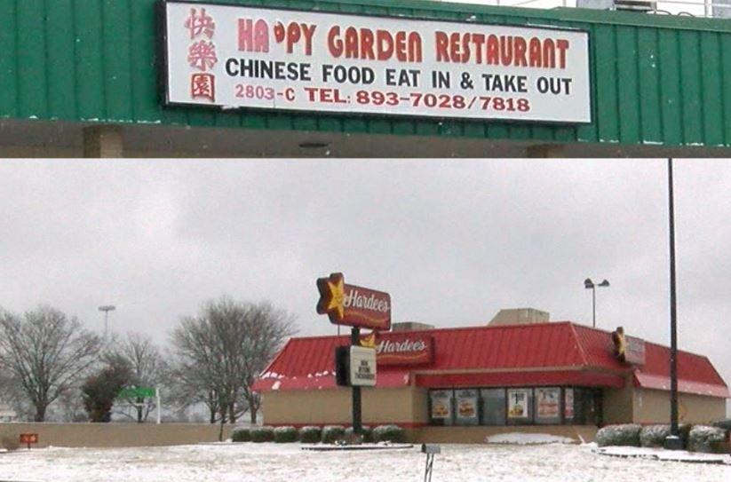 Hardee's and Happy Garden in Jefferson City