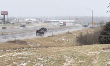 Interstate 70 in snow