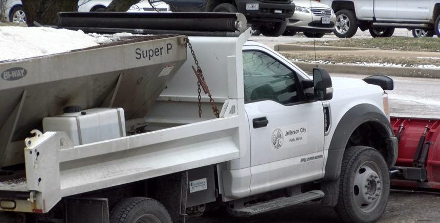 Jefferson City crews are on standby as winter weather approaches.