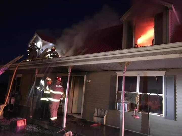 Randolph County house fire