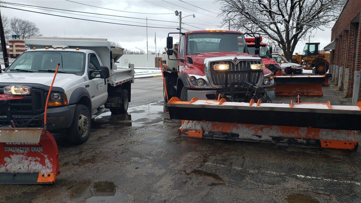 Jefferson City road plows