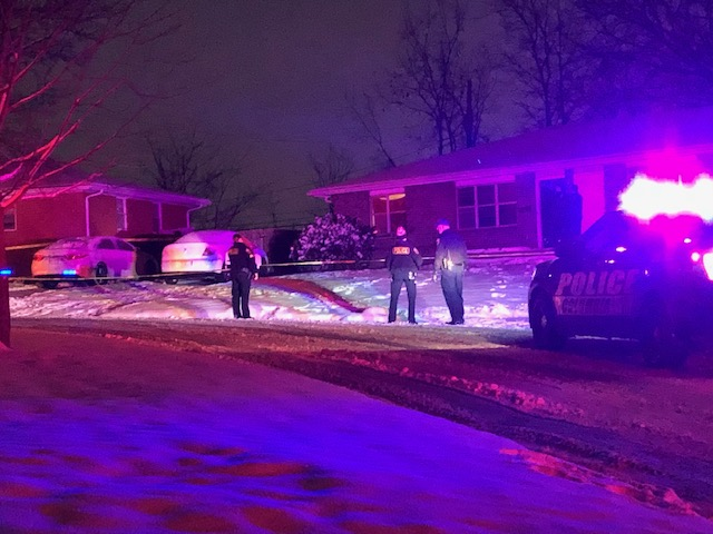 At least six Columbia police vehicles responded to a residence on Doris Drive in north Columbia on Wednesday night.
