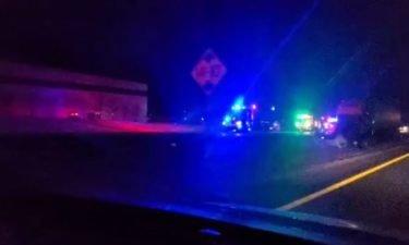 Emergency crews respond to crash on EB I-70 Sunday morning.