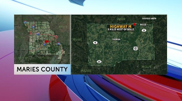 One person died in a Wednesday afternoon crash in Maries County.
