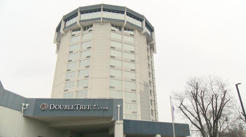 DoubleTree Hotel in Jefferson City.