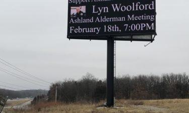 Ashland billboard