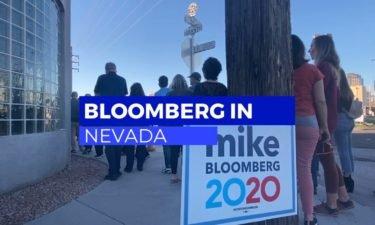 Bloomberg in Nevada
