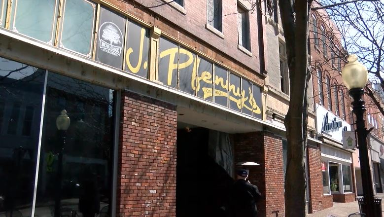J. Pfennys Sports Grill and Pub on High Street in Jefferson City, Mo.