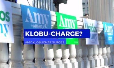 Klobuchar surges video capture