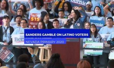 Bernie Sanders and Nevada