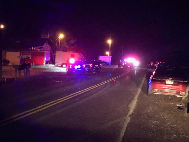Columbia police officers and Boone County Sheriff's deputies responded to a shooting North of Columbia Tuesday night.