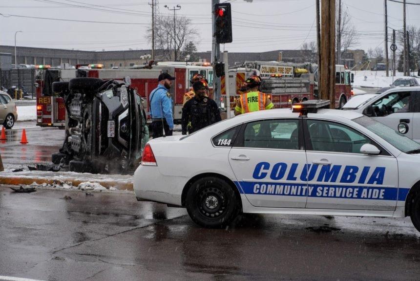 Crash at Business Loop 70 and Rangeline