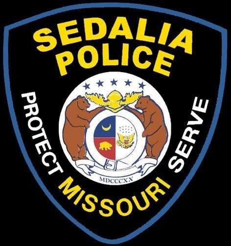 The Sedalia Police Department logo.