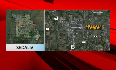 One man shot on 13th Street in Sedalia.