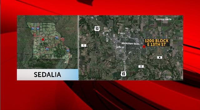 One man shot on 13th Street in Sedalia.