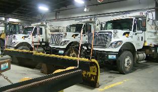 Columbia Public Works Department plows