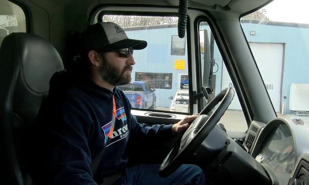 Plow truck driver