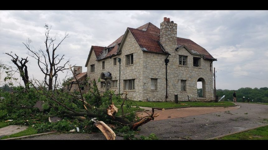 Lincoln University mansion damage