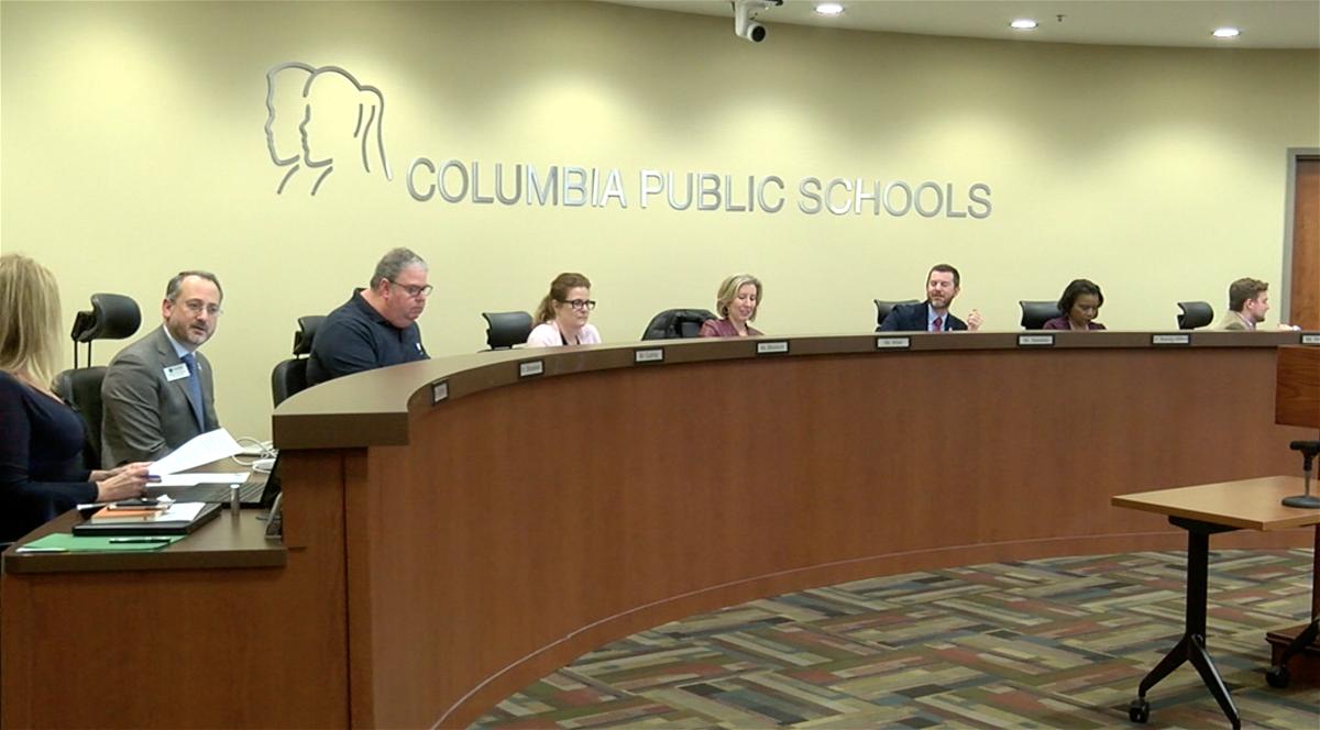 The Columbia Public School board of education