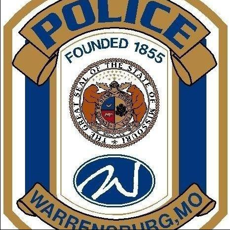 Warrensburg Police crest.