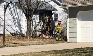 Columbia Fire Department responded to a house fire Saturday