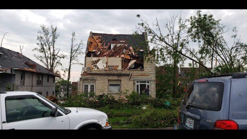 Jefferson City home damage