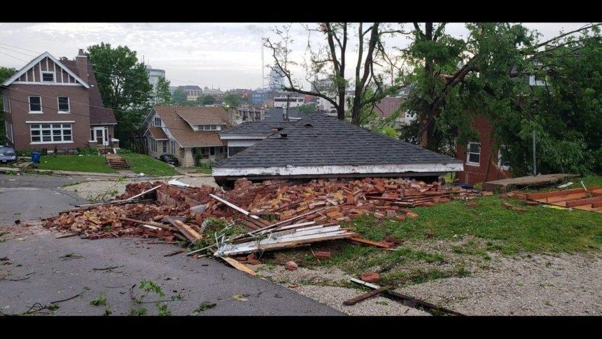 Jefferson Street damage