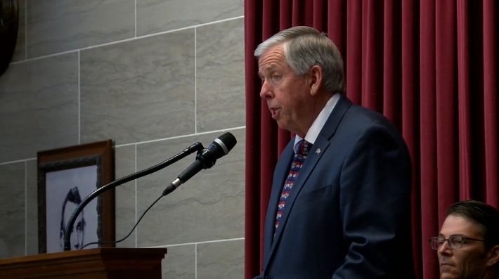 Gov. Parson announced Missouri will consent with a President Trump Executive Order from September.