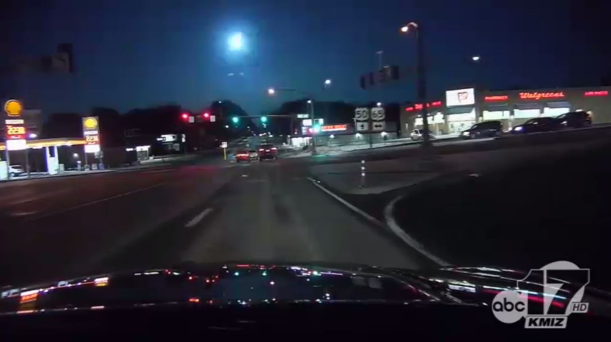 Sedalia meteor photo