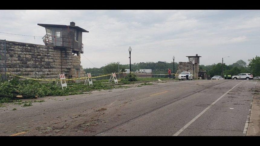 Missouri State Penitentiary Damage