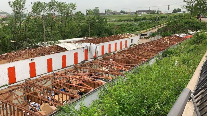 Jefferson City storage unit damage