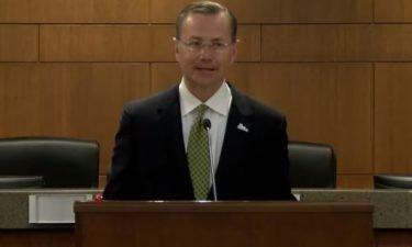 Mayor Brian Treece talks about Columbia COVID-19 case