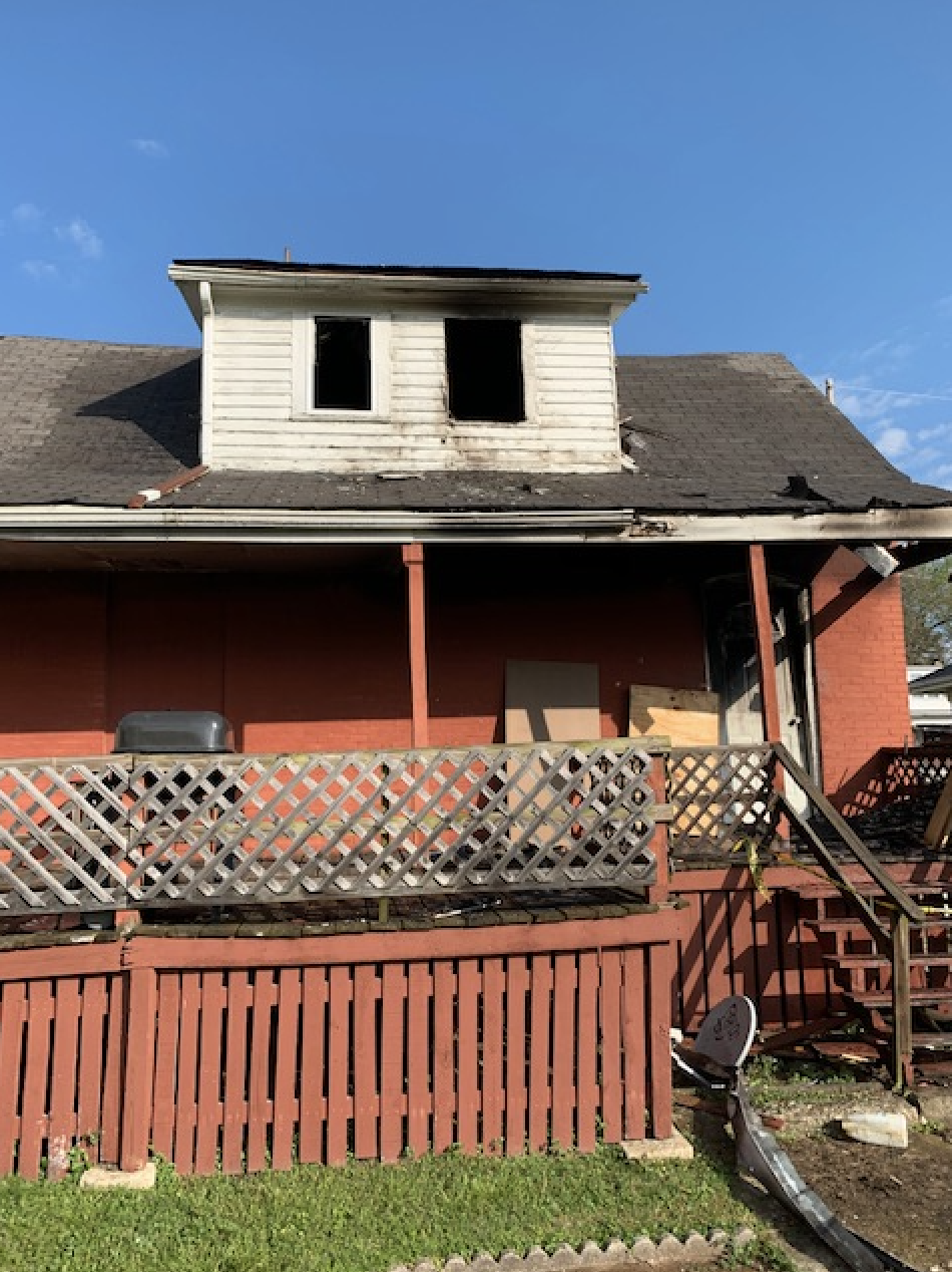 A house suffered $75,000 in damages after a Sunday morning fire.