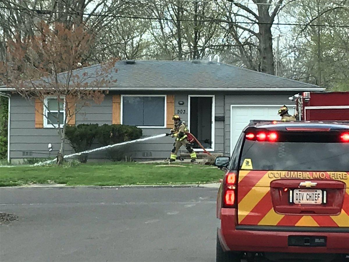 Columbia house fire