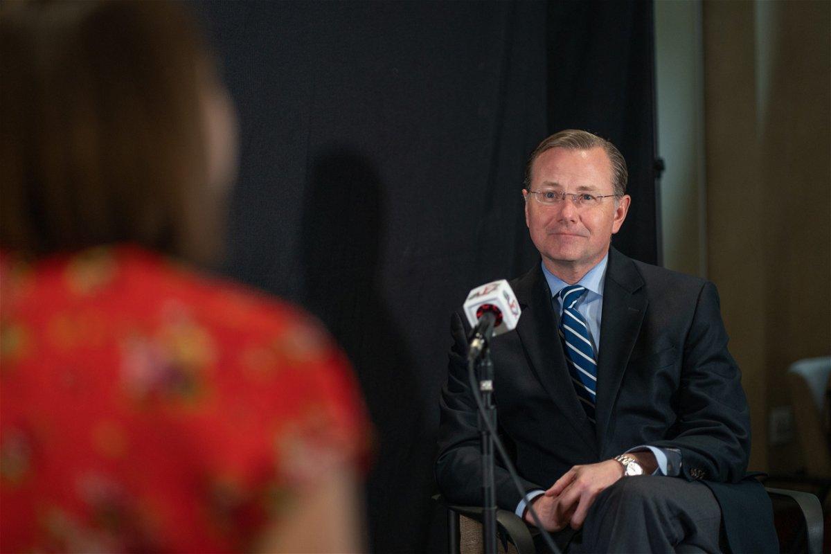 Mayor Brian Treece interview