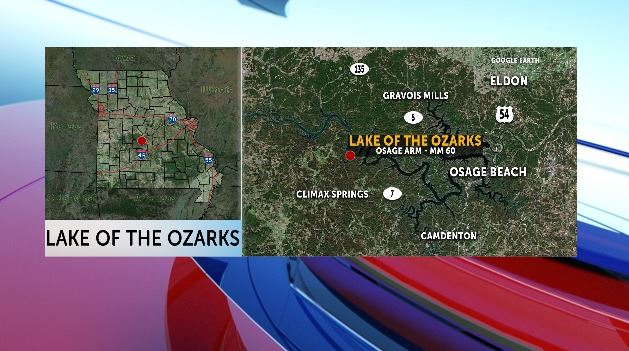 One person escaped a boat fire in the Lake of the Ozarks.